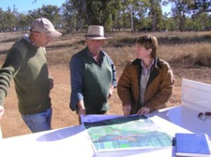 Working with landholders to develop an effective pest management plan